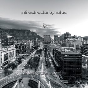 Adderly Street Cape Town BW