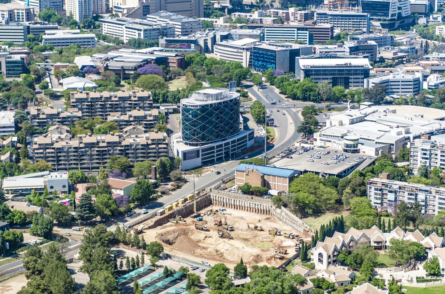 Capital Hill Aerial