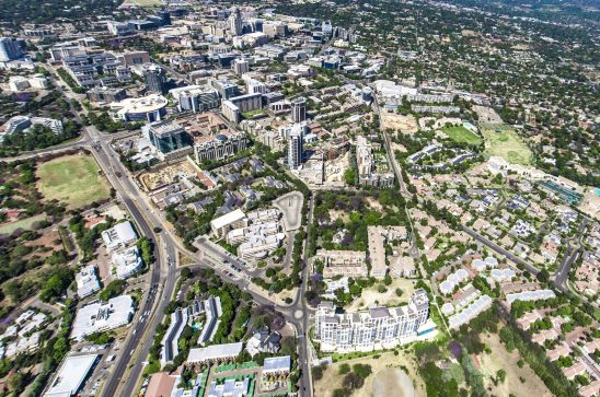 Aerial Photography Sandton/Morningside