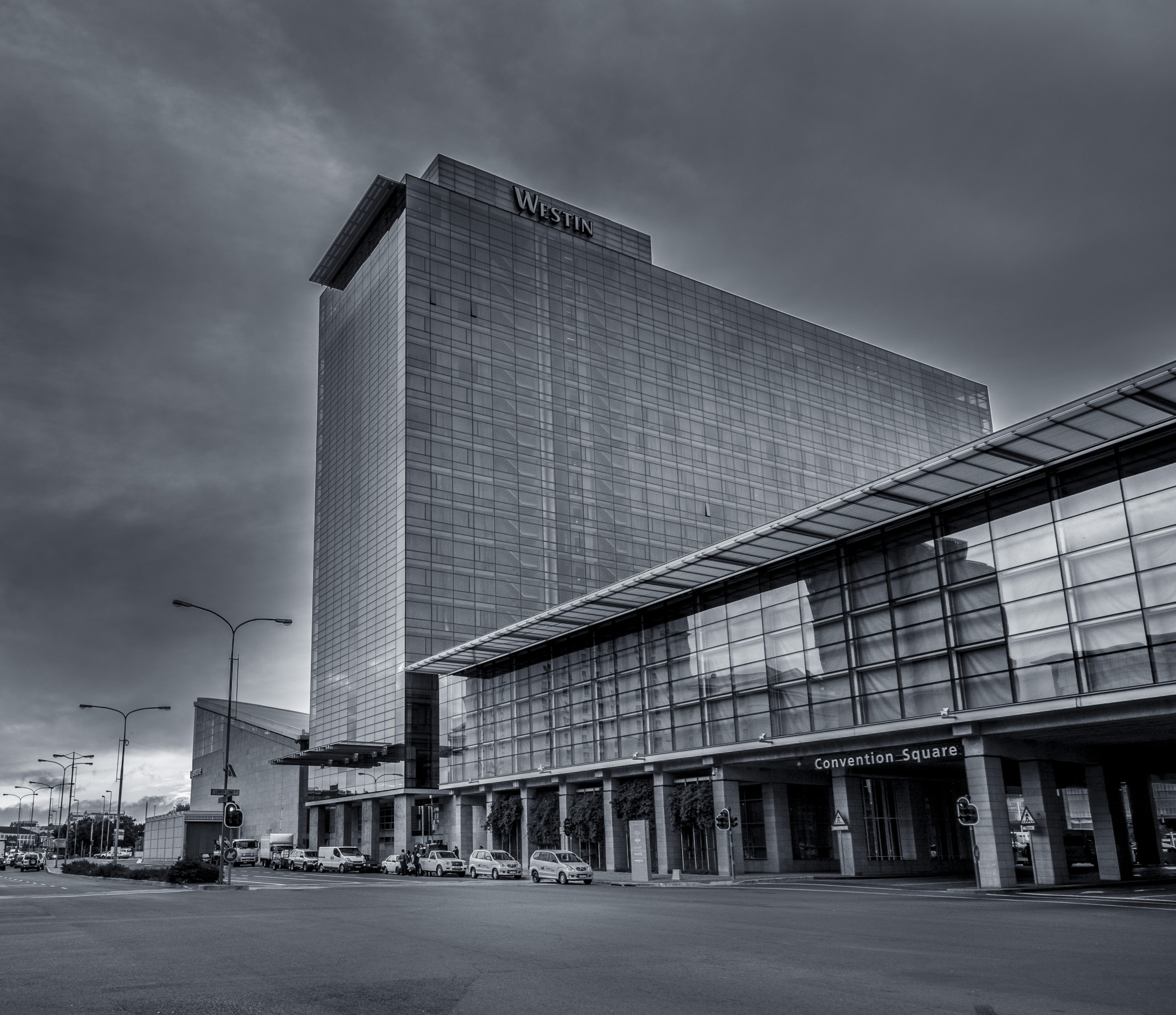 Westin Grand Black and White