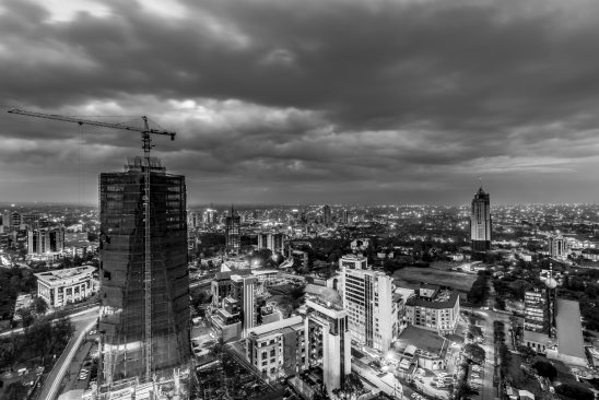BRITAM Tower BW