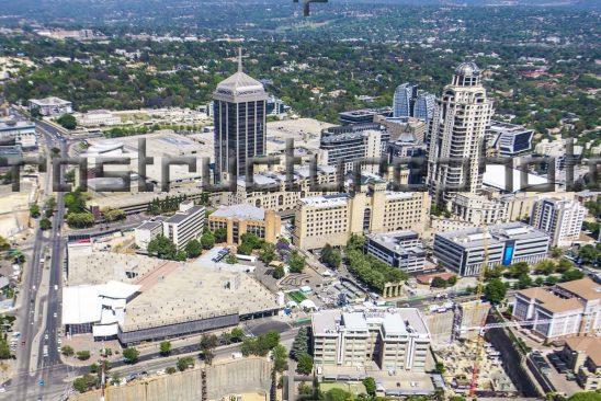 Sandton City Aerial