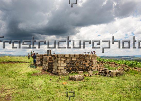 Broken down house Lesotho