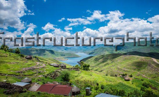 Rural homesteads Lesotho