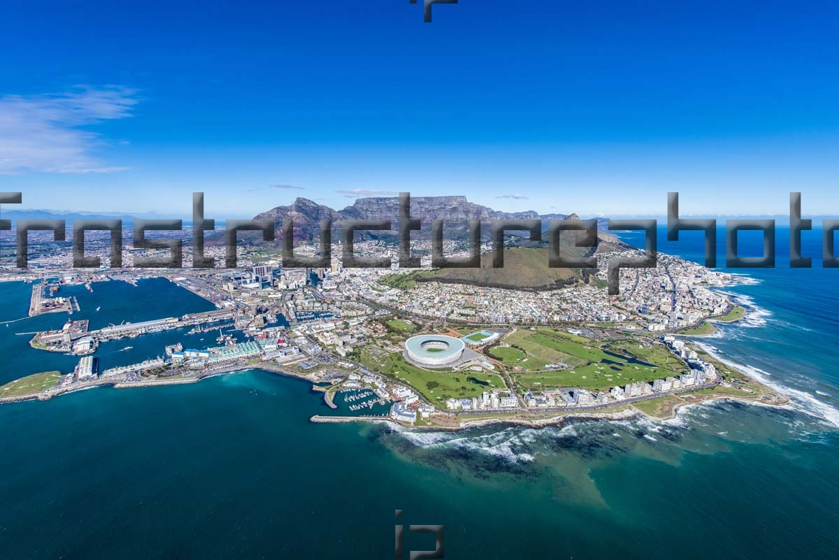 City of Cape Town Scenic Aerial