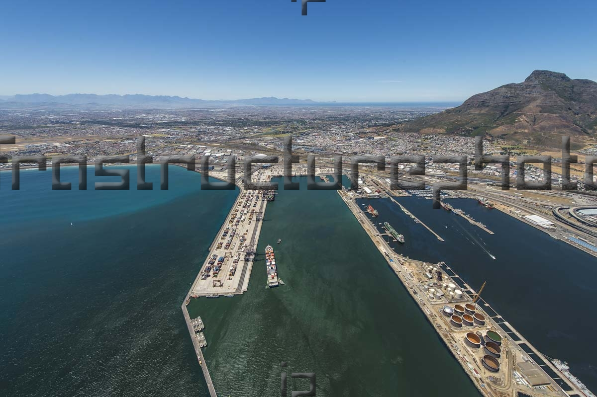 The Port of Cape Town