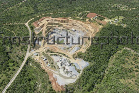Cement aggregate quarry