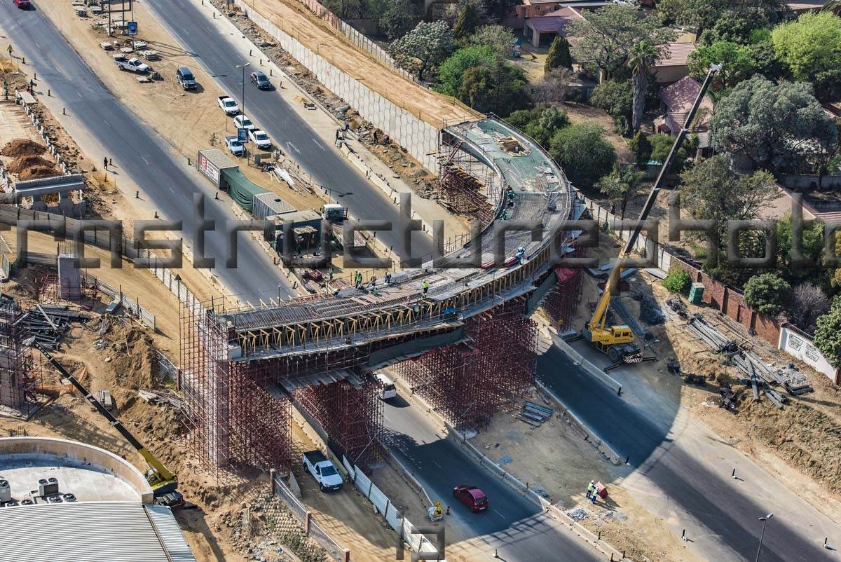 Fourways Mall Fly Over Bridge