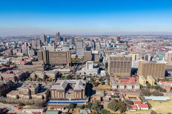Johannesburg CBD Skyline
