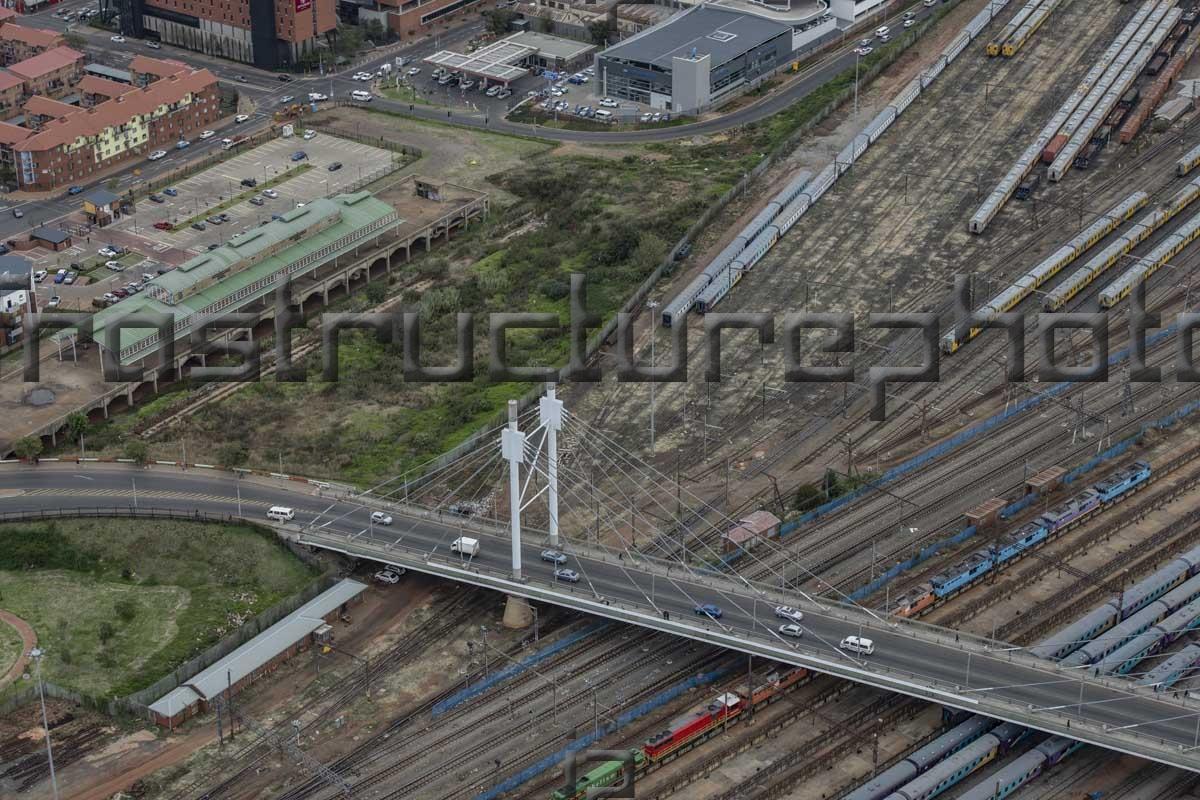 Nelson Mandela Bridge Johannesburg