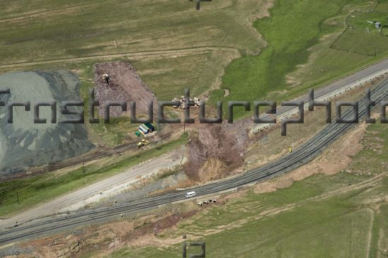 Road Construction Aerial