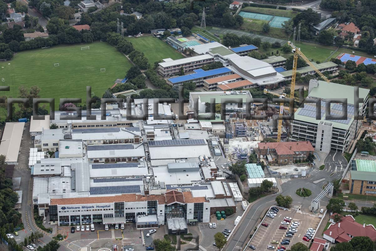Netcare Milpark Hospital Upgrade