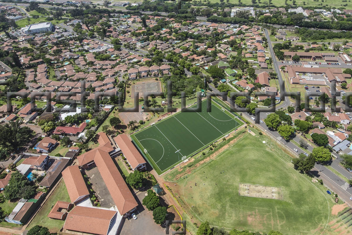 Northwood School Durban Hockey Astro turf field