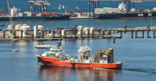 SS Nujoma diamond sampling and exploration vessel