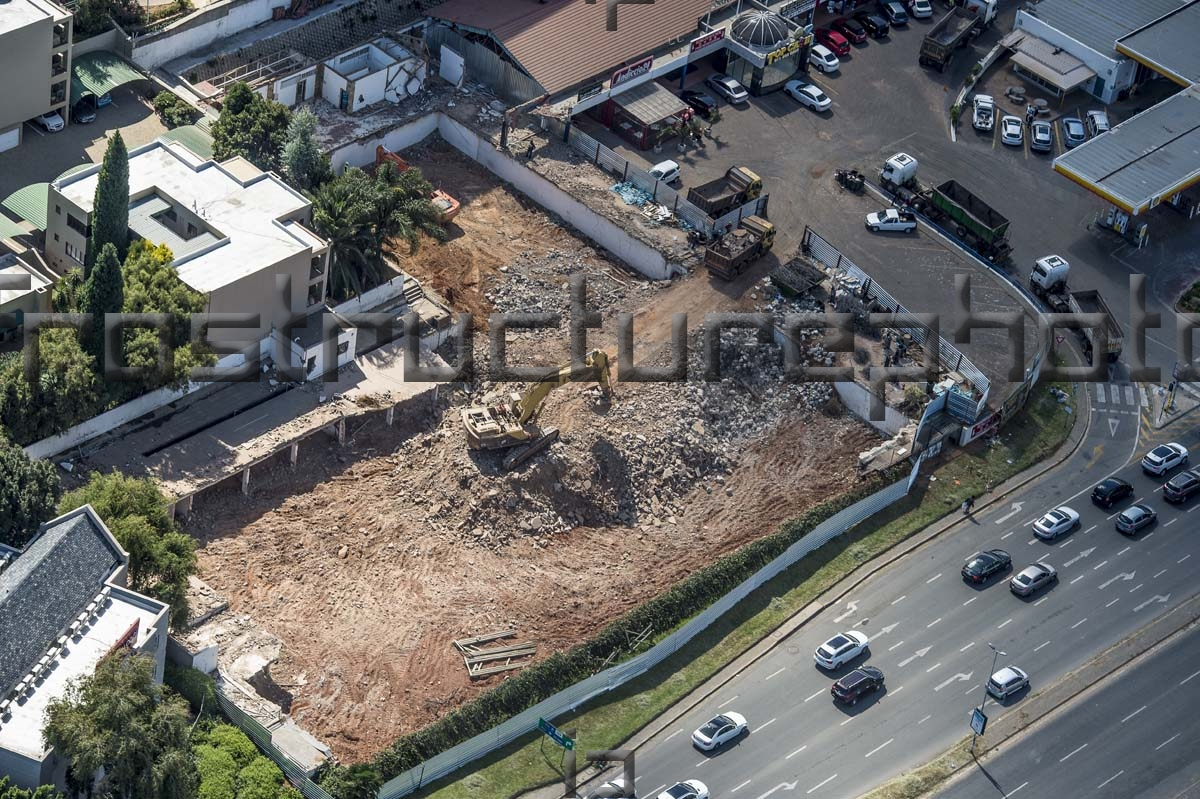 Sandton Court Demolition