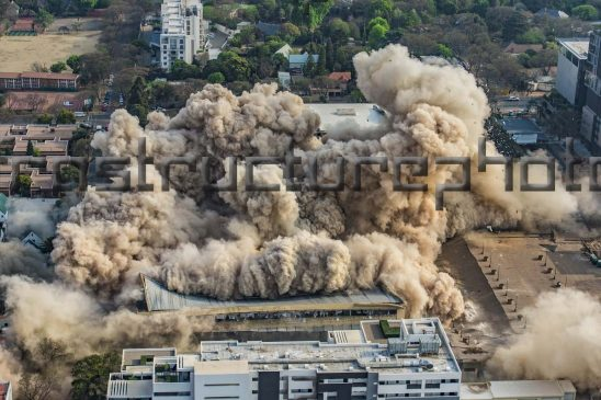 Times Media Building Implosion